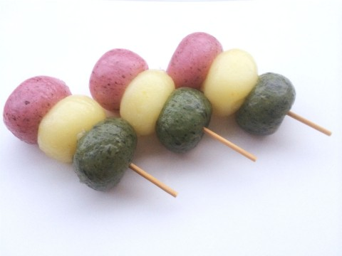 Hanami Dango (Three-color dumpling) images