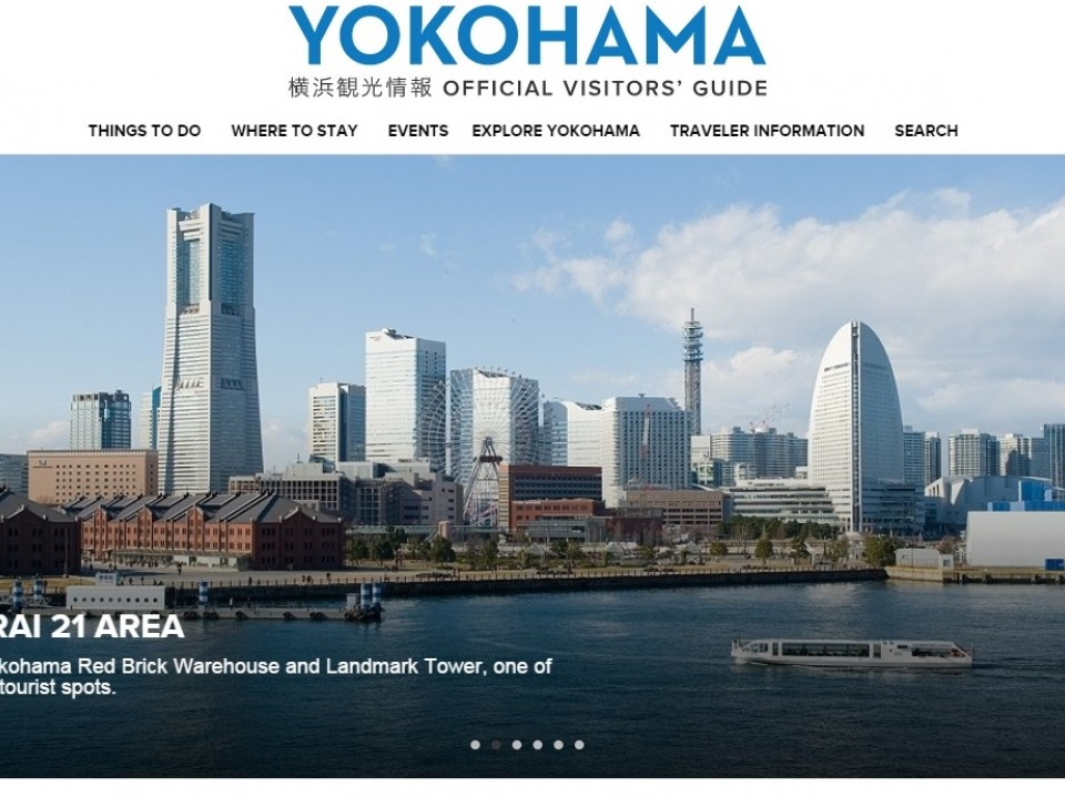 Yokohama Convention & Visitors Bureau's Official Website