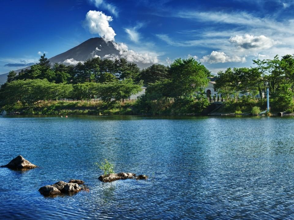 Mt. Fuji & Lake Kawaguchiko
