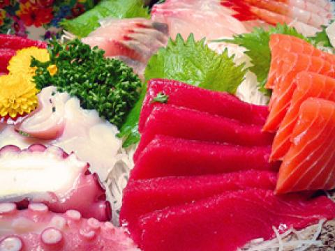 Sashimi vs. Sushi images
