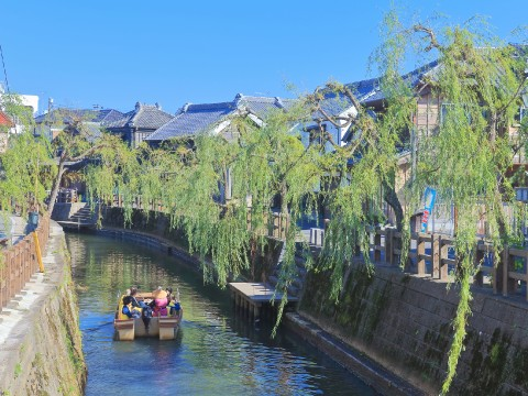 Immerse Yourself in an Edo Period Townscape--Sightseeing Boat Rides in Sawara images