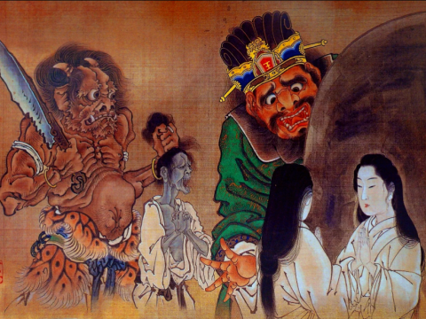 "There is a legend of ""Enma the Great"". Japanese fear so much... images"