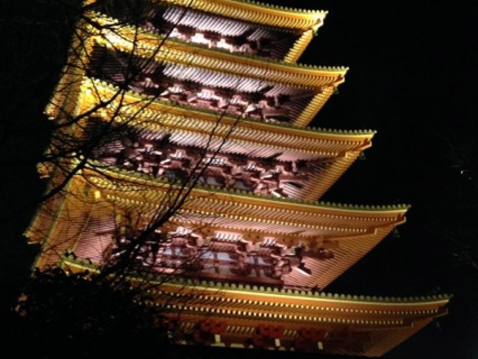 Senso-ji's pagoda