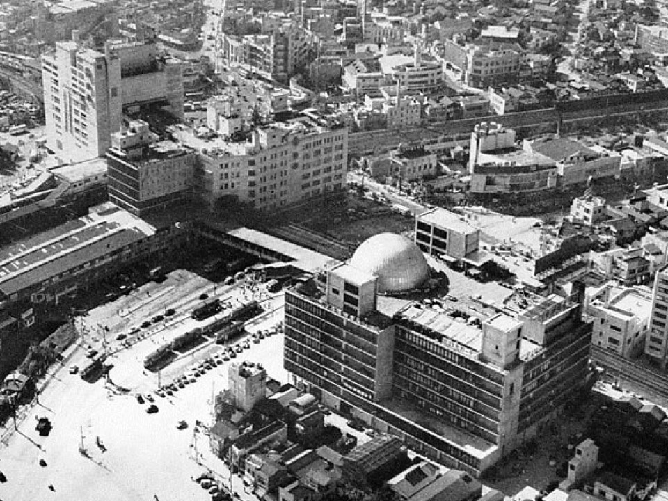 Shibuya Station around 1960