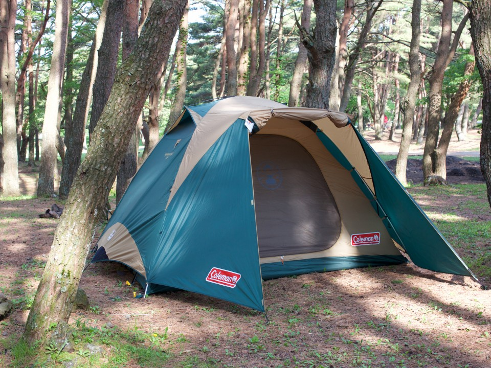 Plenty of flat ground for your tent
