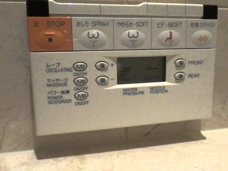 Washlet Panel