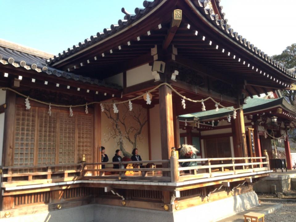 shishi-mai lion dance