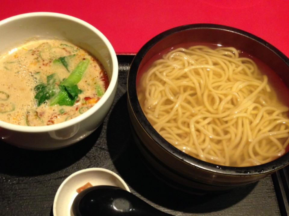 hot tsukemen & hot soup