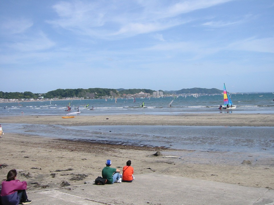 The beach near Kamakura