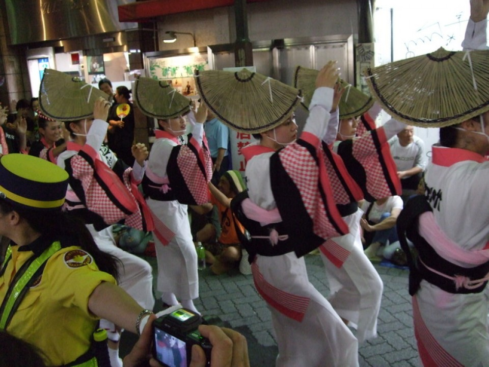 Interesting hats from one of Japan's numerous festivals