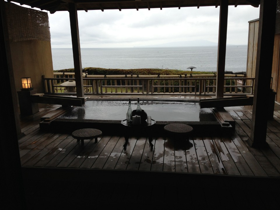 Grand Pacific from your Private Onsen