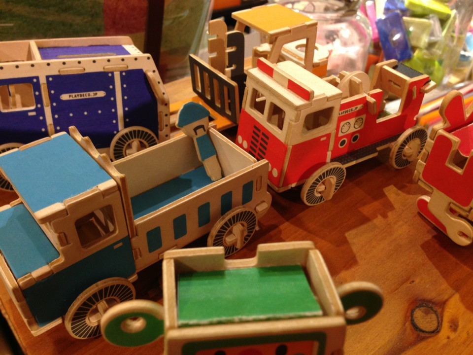Firefighter tape dispenser & paper clip truck