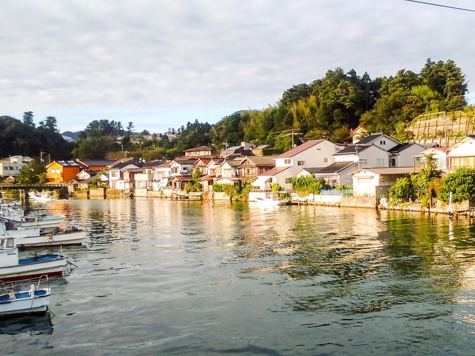 Okinoshima port village