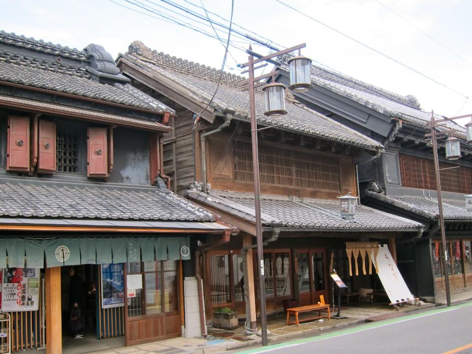 street in Kawagoe