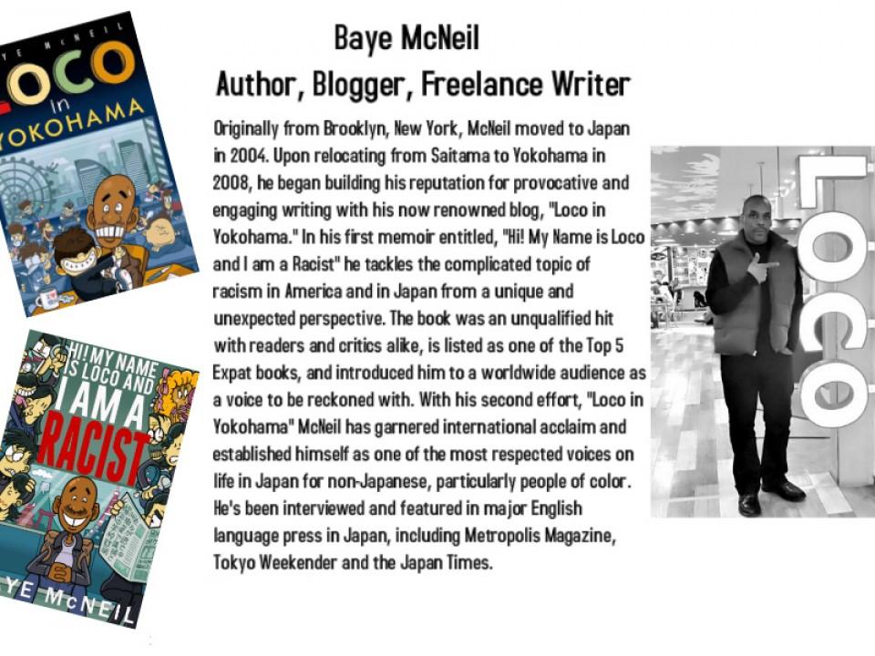 Baye McNeil, Author
