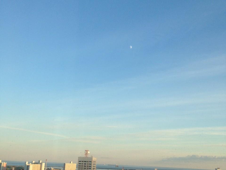 Evening Sky in Tomakomai Hokkaido