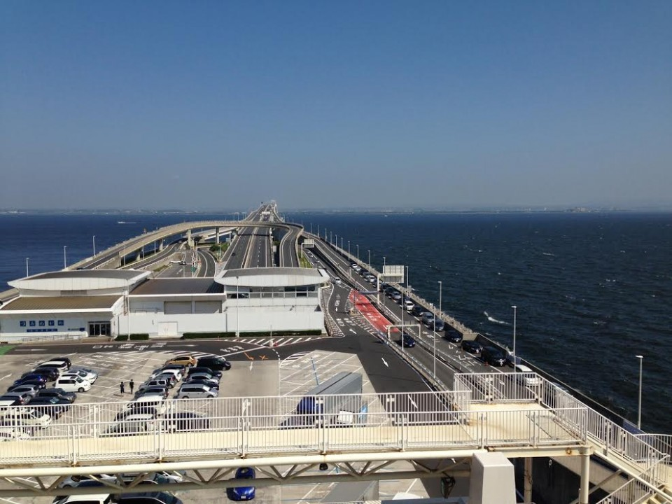 Looking towards Chiba
