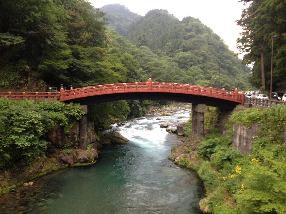 Shinkyo Bridge (Often Has Wild Monkeys Around!)