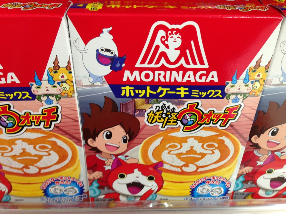 Yokai Watch pancake mix