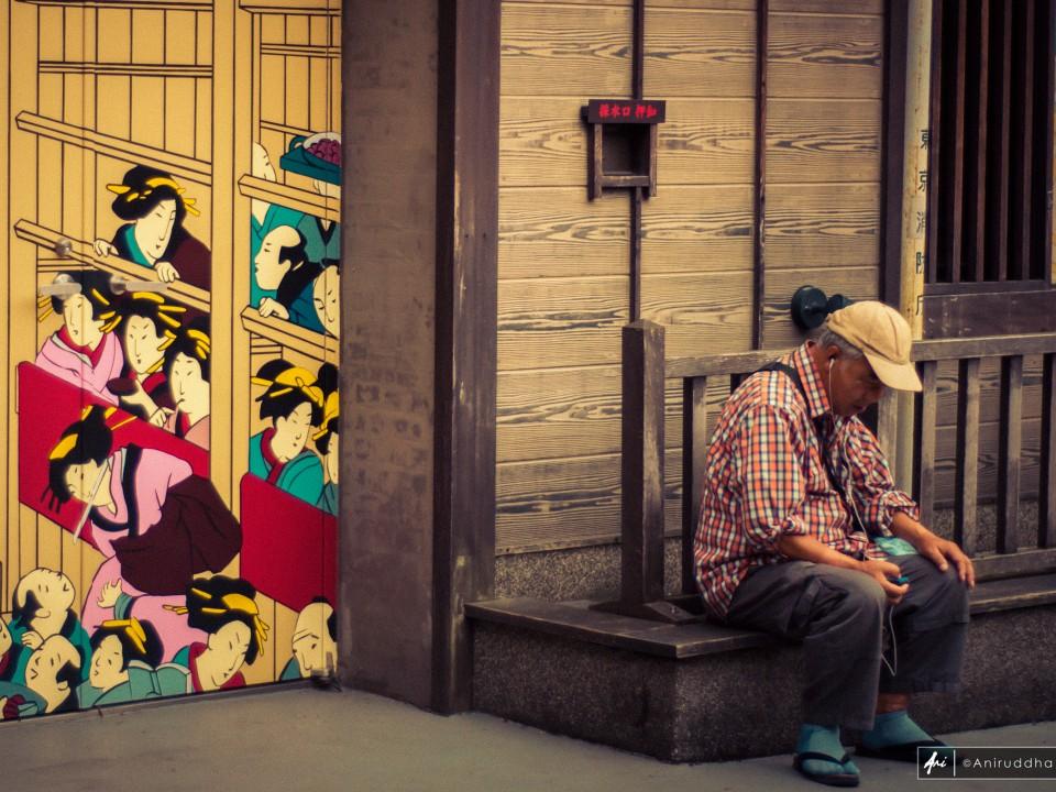 The streets of Asakusa