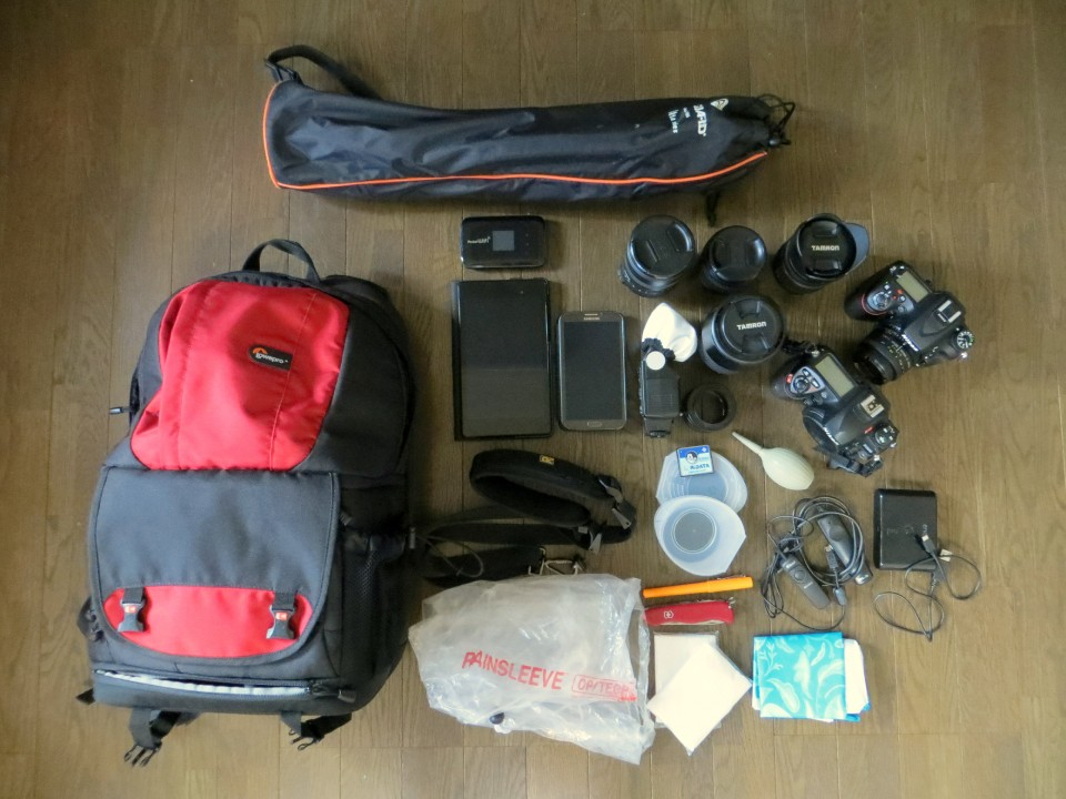 The Street Photographer's Photowalk Kit