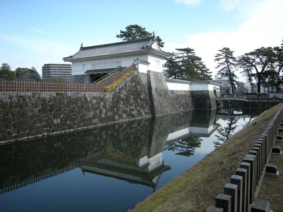 Odawara Castle Moat