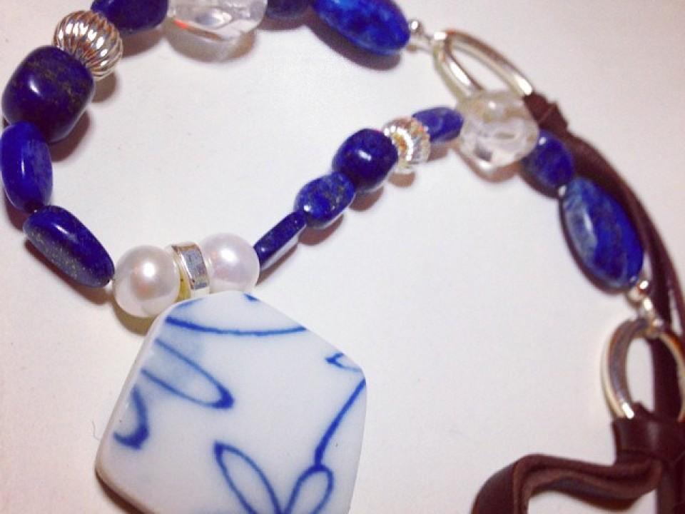 necklace (design on both sides)