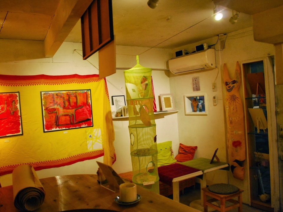 Artmania Cafe Gallery Interior