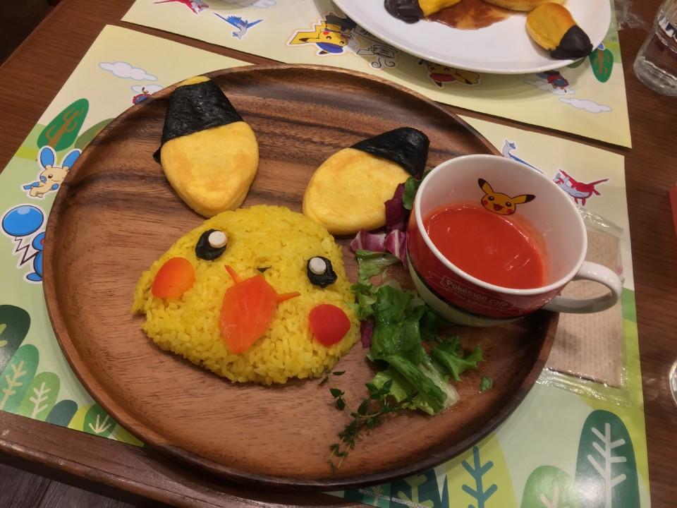 Pikachu Omu-rice
