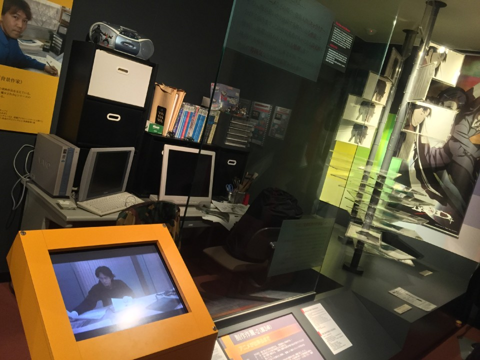 Exhibits of Artist Desks