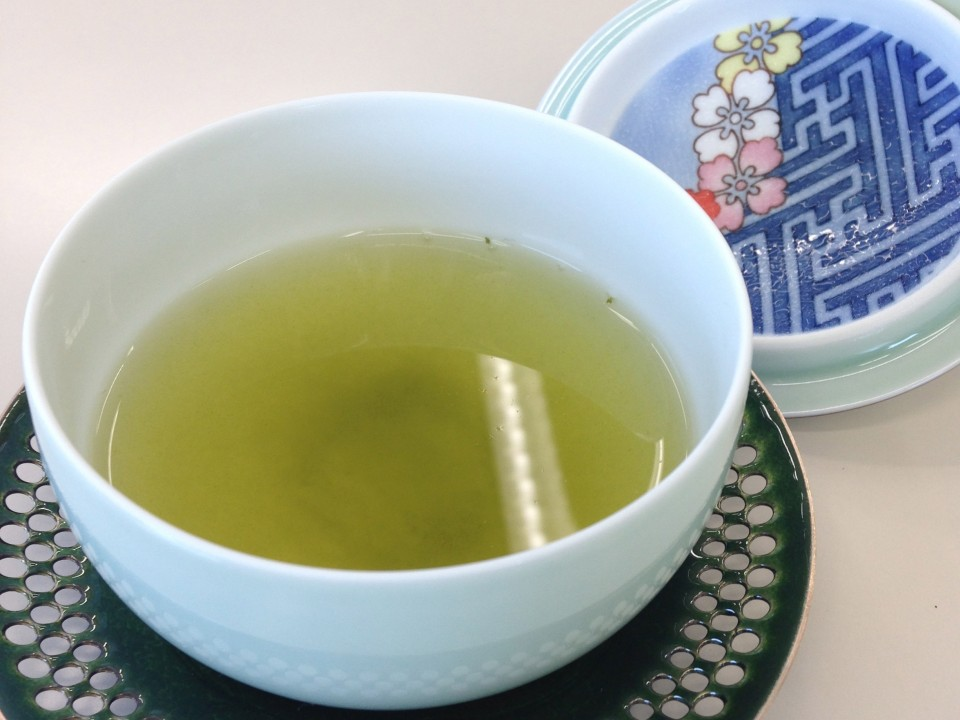 Delicious Green Tea from Sensei