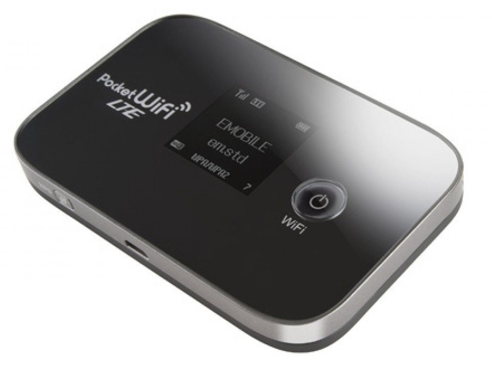 A Pocket Wi-Fi unit