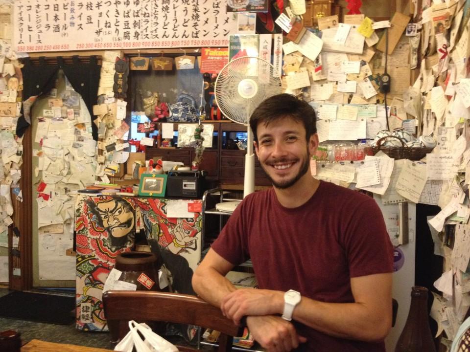 Me @ Hippari Dako in Nikko