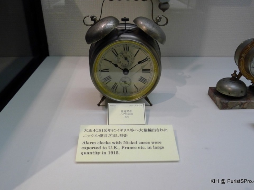 Alarm clock exported to Europe