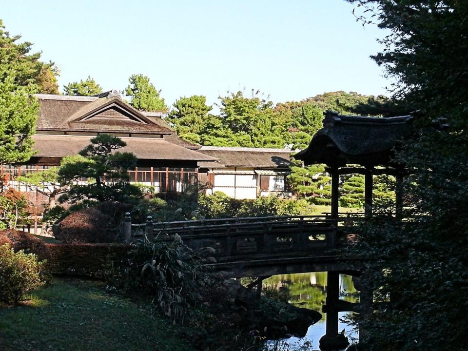 Inside Honmoku Sancho Park
