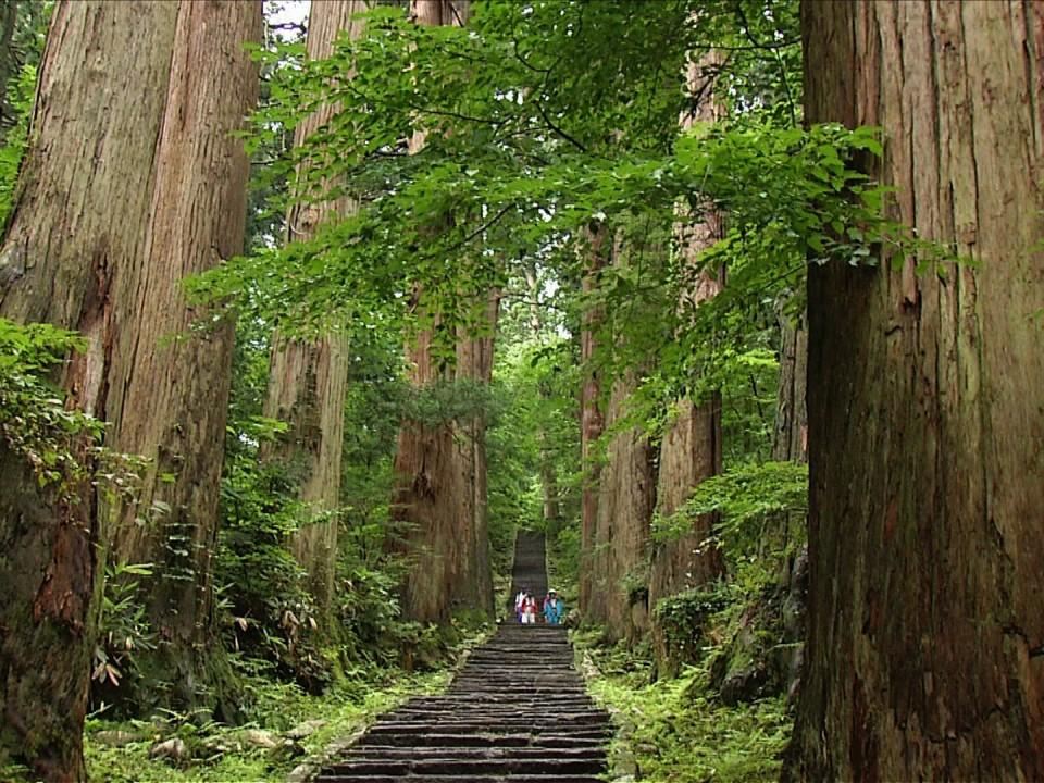 Mt. Hagurosan in Yamagata