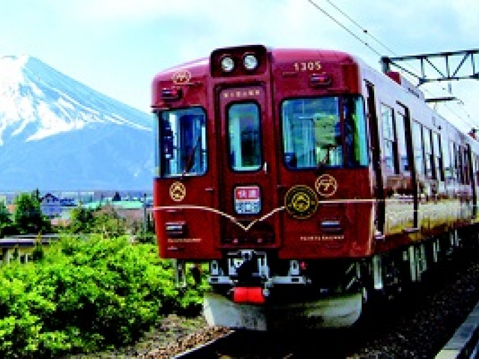 Fuji-tozan Train / (C)2014 Fujikyuko Co., Ltd.
