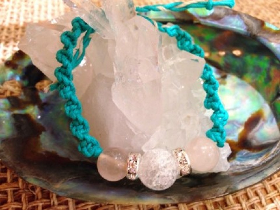 #1: Cracked Crystal bracelet