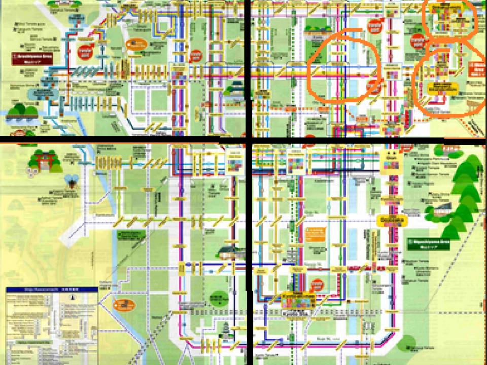 Tokyo bus map