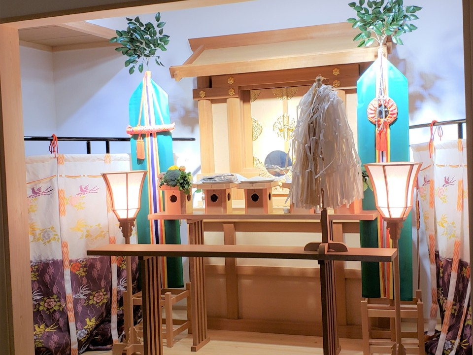 Shinto style ceremony venue