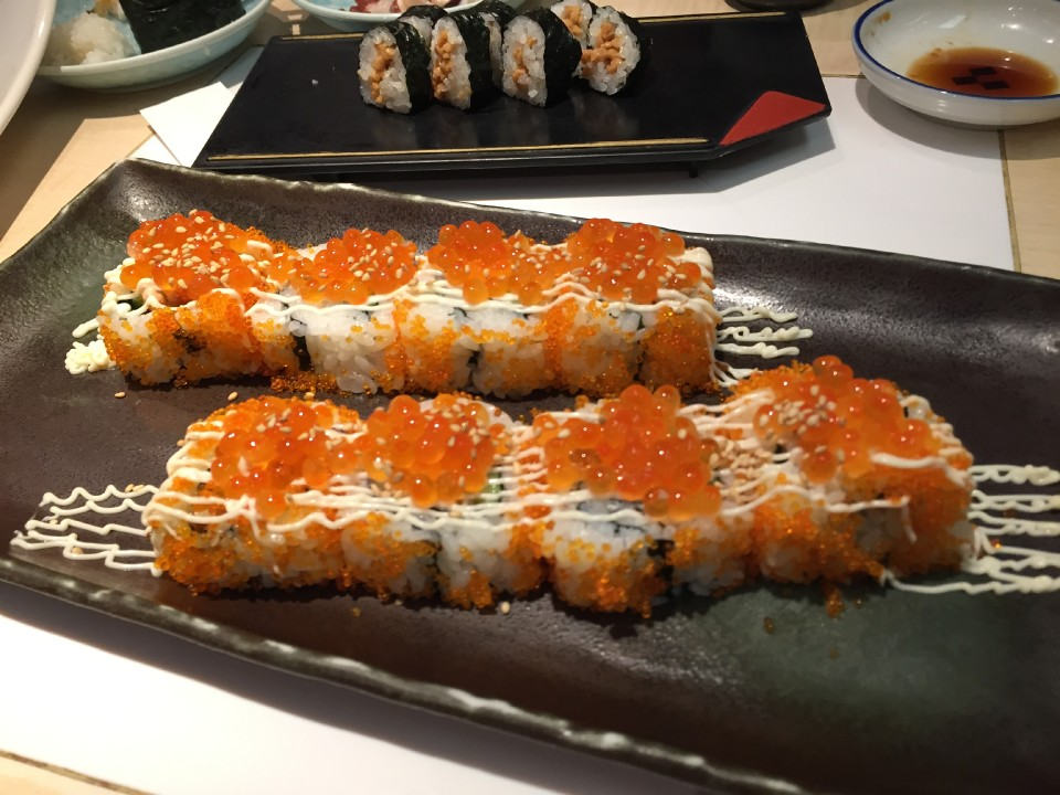 sushi served in may styles