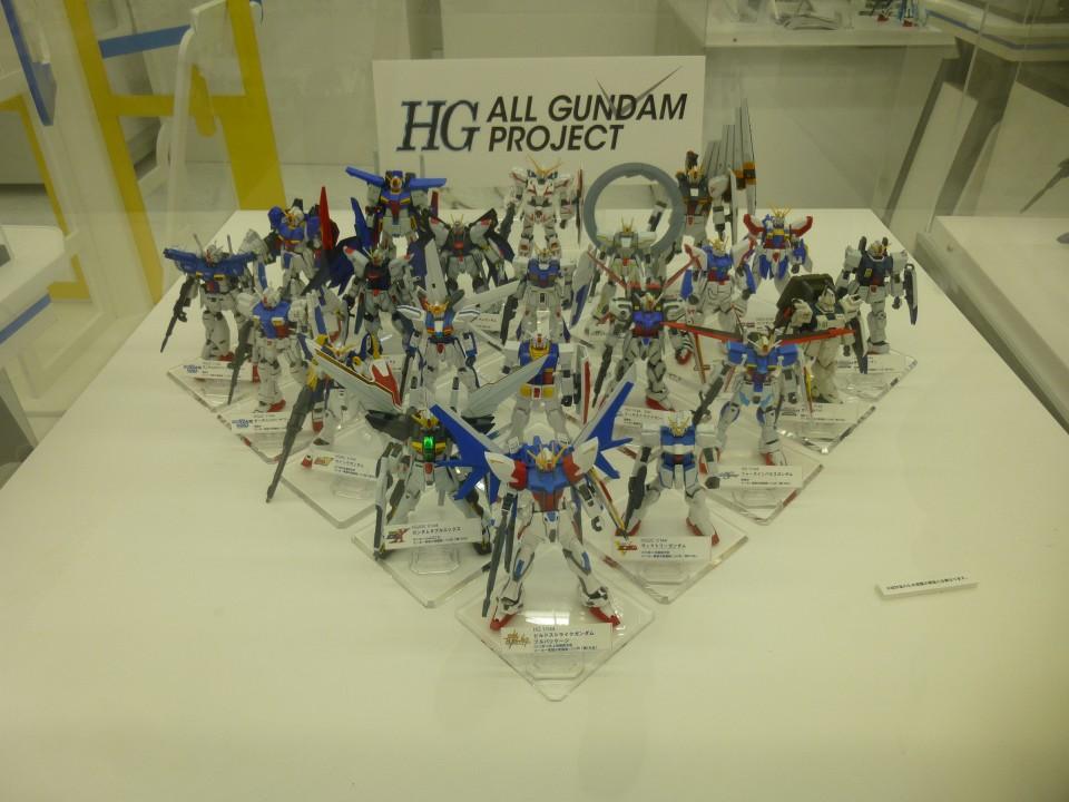 Gundam plastic models