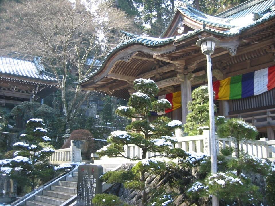 Daiyuzan Saijoji in Winter