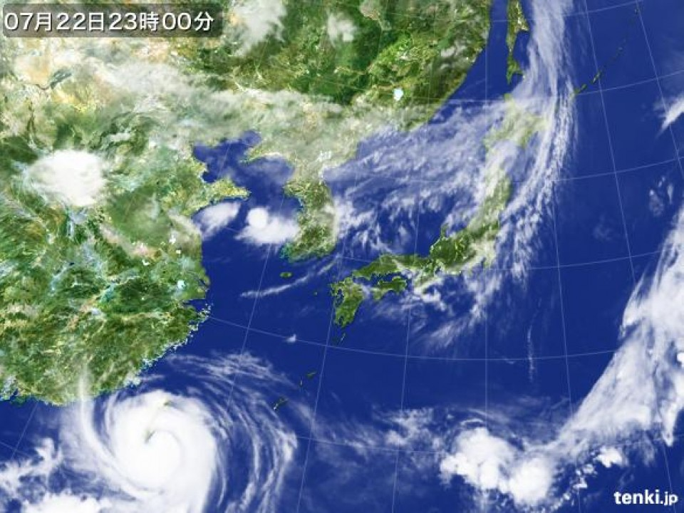 Typhoon #10 (Matmo) headed to mainland China