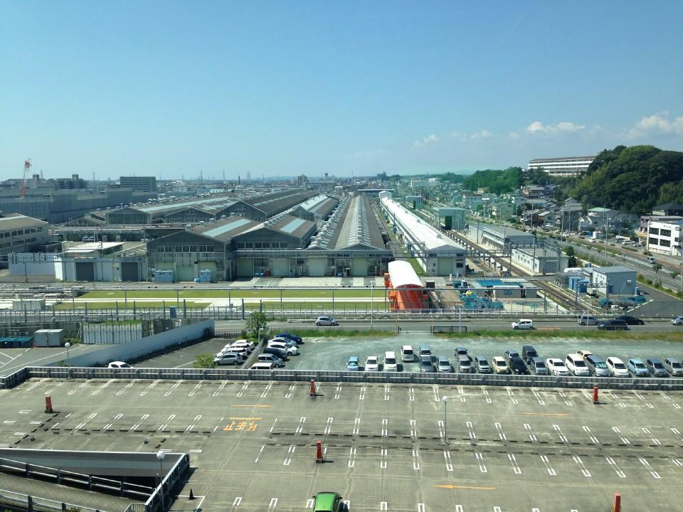 Shinkansen Inspection Facility in Hamamatsu