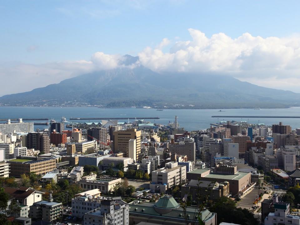 Sakurajima in Kagoshima