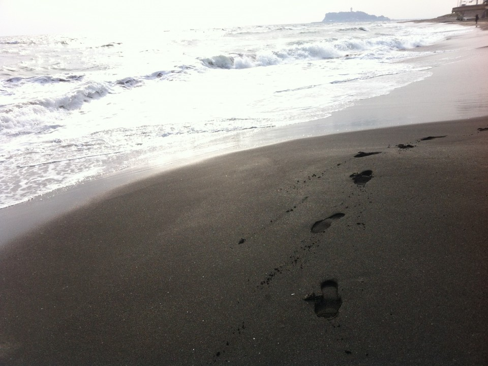 A walk with the surf
