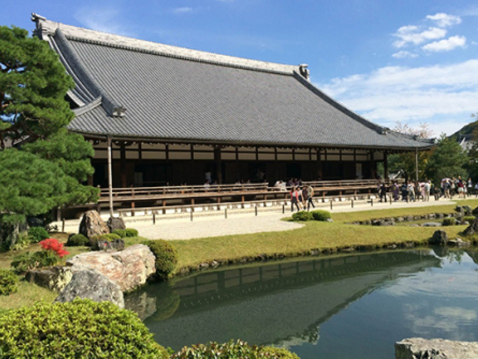 Tenryū-ji Temple in Kyoto.