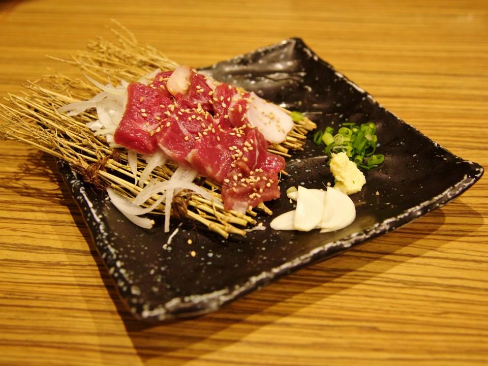 Basashi (raw horse)