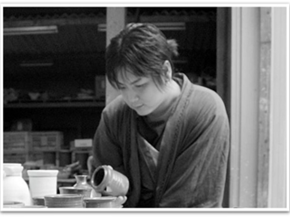 Yuki Mori - owner of the pottery